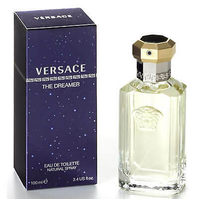 VERSACE THE DREAMER EAU DE TOILETTE EDT 100ML SPRAY MEN'S FOR HIM Sealed New Box