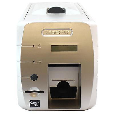 Ultra Magicard Tango 2E Std Color Id Card Printer Two Sided Usb Ethernet 45E8704