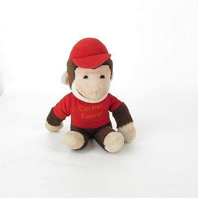 "Vintage Knickerbocher CURIOUS GEORGE MONKEY Stuffed Animal 18"" Plush"