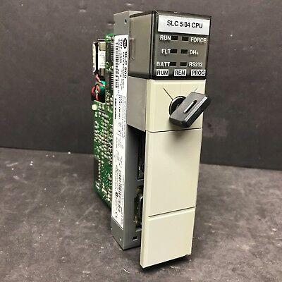 Allen Bradley 1747-l543 Ser C 1747-os401 C Slc 500 504 Cpu Processor 64k Plc