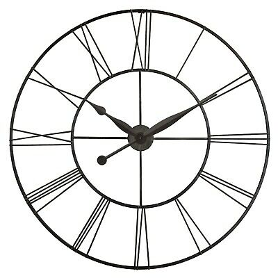 Skyscraper XXL Black Oversized 45 in Decorative Wall Clock