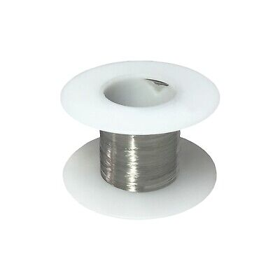 40 Awg Gauge Stainless Steel 316l Wire 25 Length 0.0031 Diameter