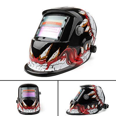 Solar Auto Darkening Welding Helmet Tig Mig Welder Lens Grinding Mask 35 Us