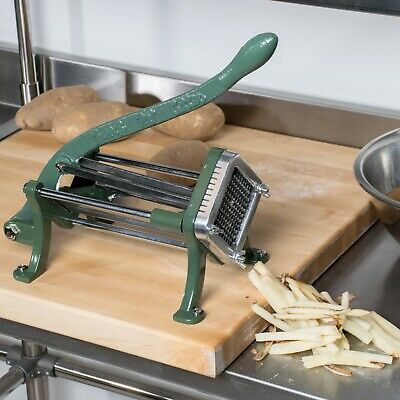 """1/4"""" French Fry Cutter with Durable Feet Mounting Restaurant Bar Kitchen Cooking"""