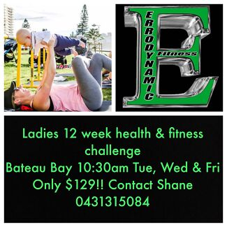 Ladies 12 Week Health & Fitness Challenge
