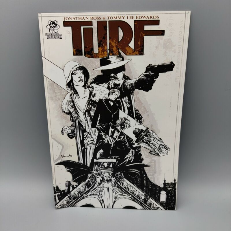TURF #1 Image Comics 2010 1 of 5 Modern Age Comic Book by Jonathan Ross