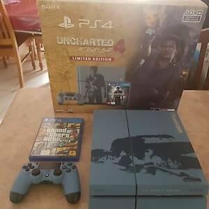 (PRICE IS FIRM!!!)Sony Plastation 4 uncharted edition NEW Edensor Park Fairfield Area Preview
