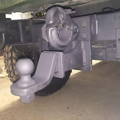 MILITARY HUMVEE HITCH PINBALL HITCH M998 HMMWV HUMMER H1 M1025