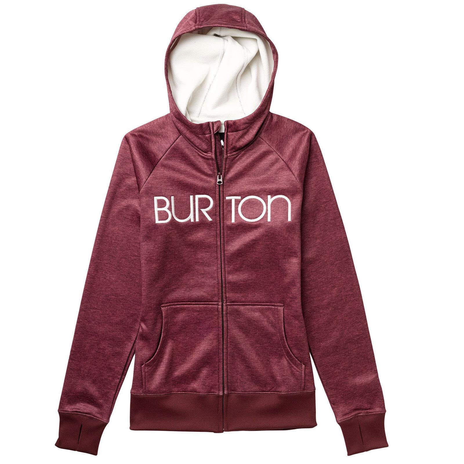 Burton Scoop Hoody Hoodie Damen Jacke Freizeitjacke Kapuzenjacke Zipjacke