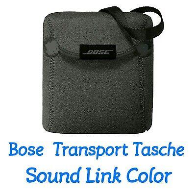 Bose ® Transporttasche aus Neopren für SoundLink Color in Grau  Neu in  OVP !