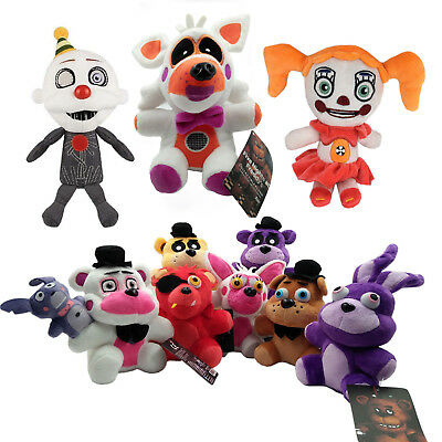 Hot Five Nights At Freddys 4 Fnaf Horror Game Plush Dolls Kids Plushie Toys 7