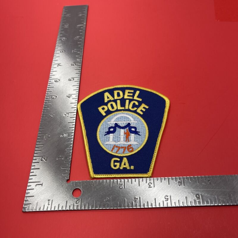 ADEL GA  POLICE SHOULDER PATCH