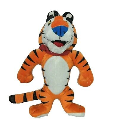 Vintage Kellogg Tony The Tiger Frosted Flakes Cereal Plush Stuffed Animal 9.5""