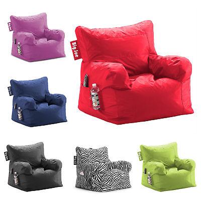 Bean Bag Big Joe Cozy Comfort Chair Dorm Stain Resistant Waterproof  Large (Polyester Bean Bag Chair)