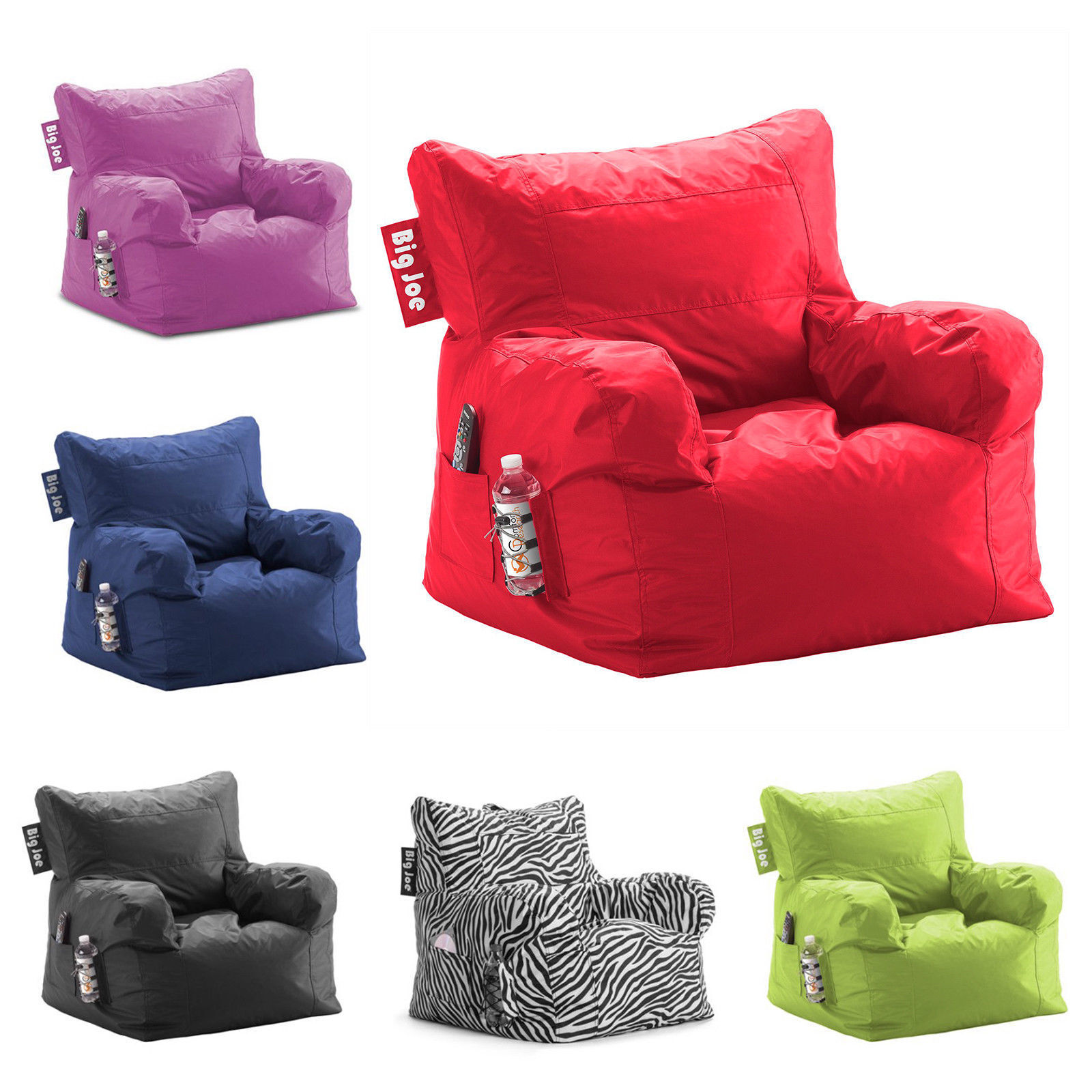Swell Big Joe Bean Bag Cozy Comfort Chair Dorm Stain Resistant Waterproof Relax Sofa Pabps2019 Chair Design Images Pabps2019Com