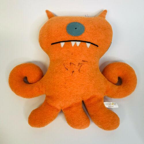 """UglyDoll Suntan Target 12"""" Plush Orange Stuffed Animal Plush Tan fades in sun"""