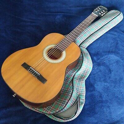 Vintage Minns Minnaco 1214 Classical Nylon String Acoustic Guitar Made In Japan