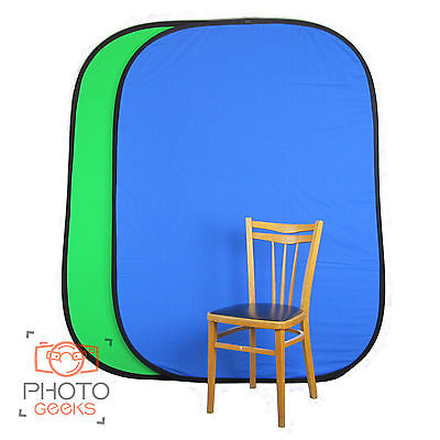 Collapsible Chroma Key Backdrop / Background - Popup Green Blue Chromakey Photo