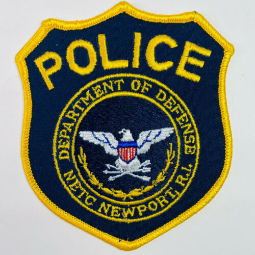 NETC Newport Rhode Island Department of Defense Police Naval Station Patch (A1)