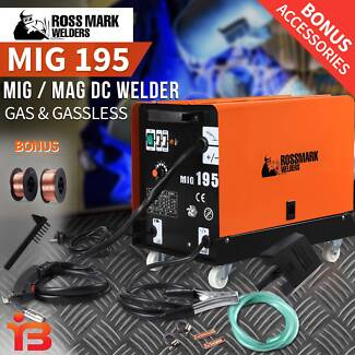 Discount on Ross Mark 180AMP MIG/MAG Gas & Gasless DC Welder