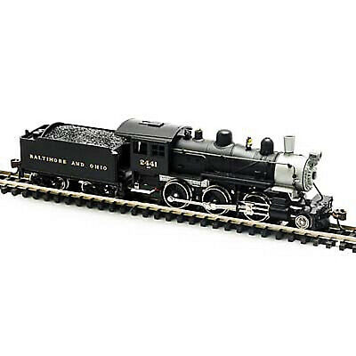 MODEL POWER 87602 N SCALE B&O Steam 2-6-0 Mogul NEW