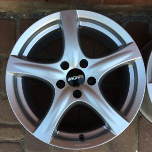 "RONAL RIMS 17"" 5x114.3 (made in Germany)"