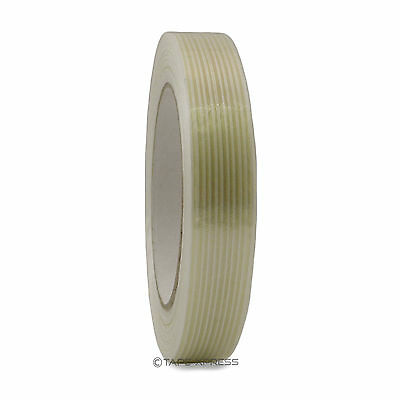 34 X 60 Yd Filament Reinforced Strapping Fiberglass Tape 3.9 Mil Free Shipping