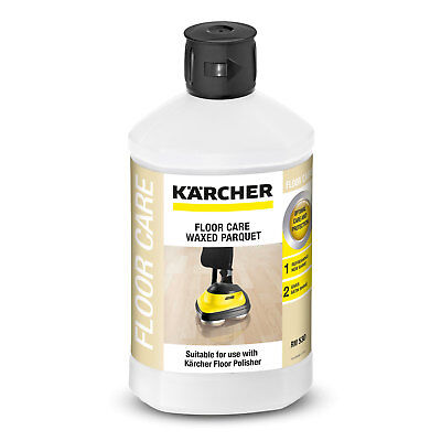 Karcher FLOOR CARE DETERGENT 1L Waxed Parquet With Oil-Wax Finish *German Brand