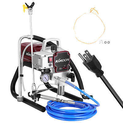 High Pressure Airless Spray Paint Gun Sprayer Spraying Machine 110V 1800W U0R8