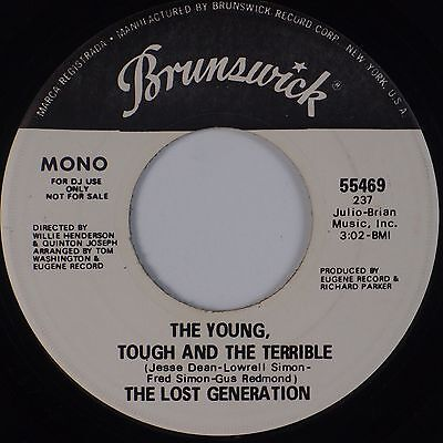 Lost Generation  Young Tough And Terrible Brunswick Sweet Soul 45 Hear