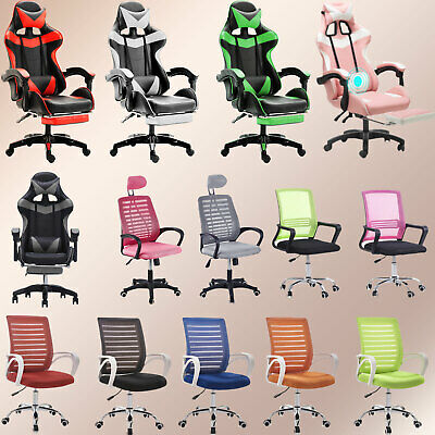 Computer Desk Chair Adjustable Hight Swivel Chairs Fit Home Office Gaming Room