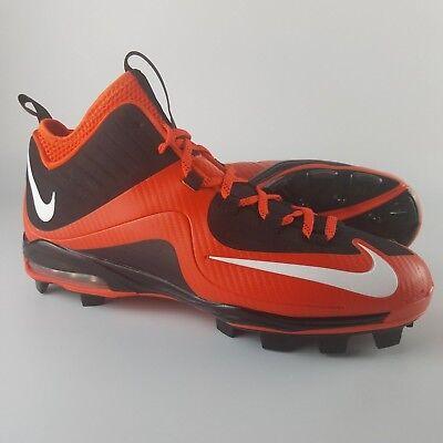 brand new a8181 52436 Nike Air Max MVP Elite II 3 4 MCS Baseball Cleats Men s Size 13.5 Orange  Black