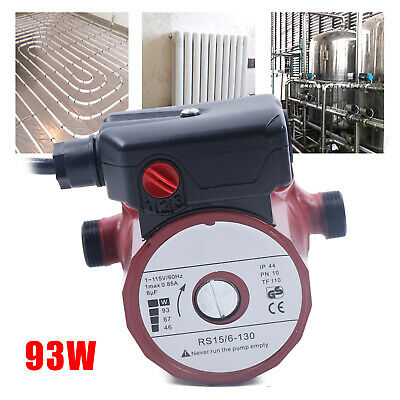 Electric Water Booster Pump 34 Circulating Pump W3-speed Switch