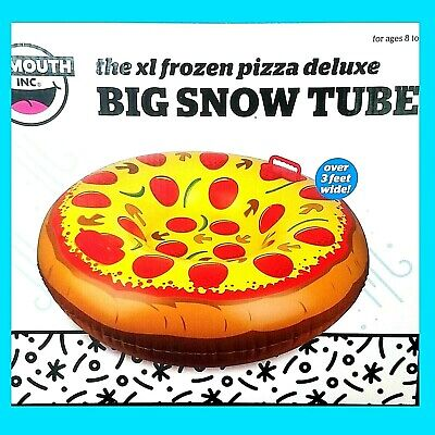 Big Mouth Pizza (Big Mouth Inc Snow Tube XL Frozen Pizza Handles Snow Sled Over 3 Feet)