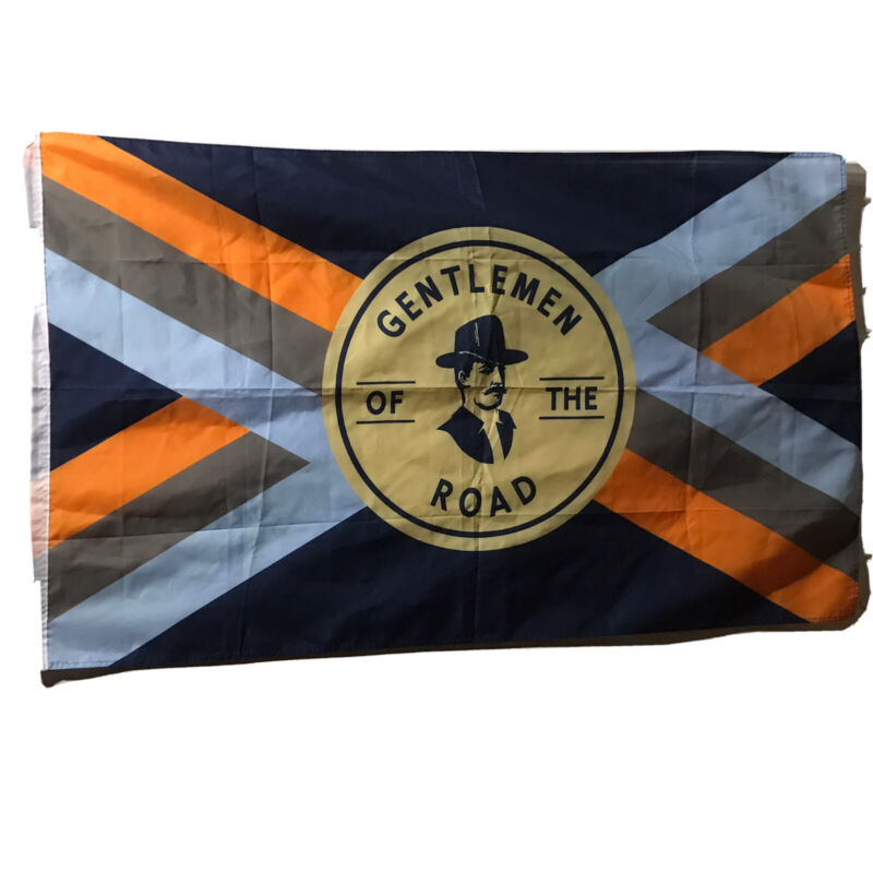"Mumford & Sons GOTR Gentleman Of The Road Banner Ad Flag 59.5""x 35 3/4"""