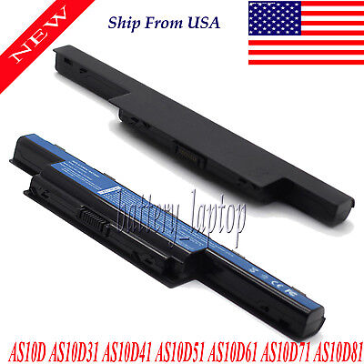 AS10D73 Battery For Acer Aspire 4551 5552 7741G Series 31CR19/66-2 6 Cells