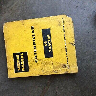 Cat Caterpillar D8 Dozer Service Manual 14a 15a