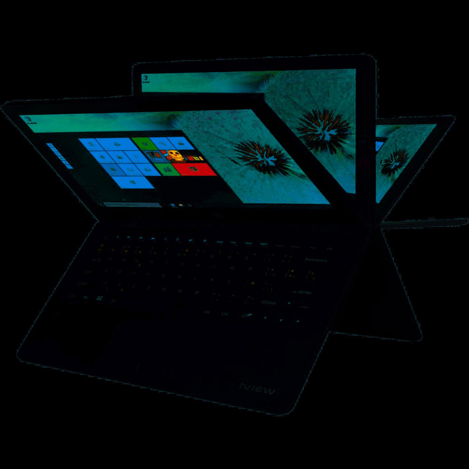 "Laptop Windows - iView Ultima 13.3"" Touchscreen Convertible 360° Laptop Intel Windows 10 Black"