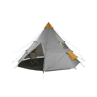 Tipi Zelt GRAND CANYON Tepee 8 Mann Gruppenzelt Camping Zelt 6 7 8 Personen