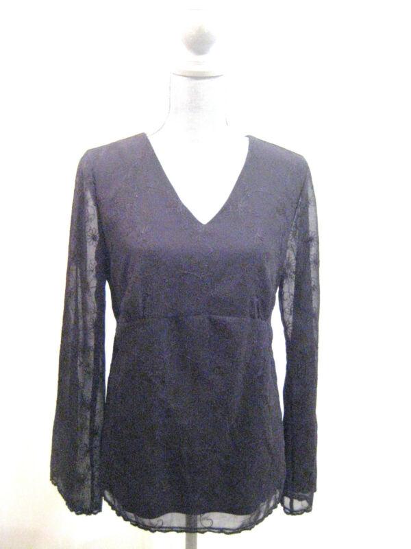 1 top + 1 crop pant Motherhood Maternity pants shirt blouse top 2 pc set Size M