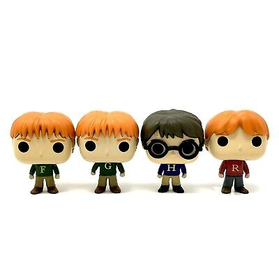 4 Funko Minis 2018 Advent Calendar Harry Potter Fred George Ron Weasley Sweaters