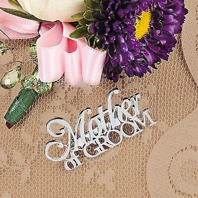 Mother of the Groom Silver Pin Wedding Decoration Party Gift Pendant Brooch](Mother Of Groom Gift)