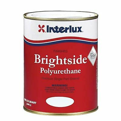 Interlux Brightside High Gloss Polyurethane Marine Paint- SEATTLE GRAY ()