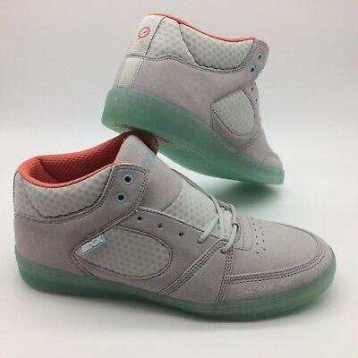Es Mens Shoes    Accel Slim Mid X Dgk  Grey Gris Blue Bleu