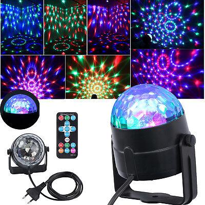 Disco Lichteffekt LED Discokugel DJ Party RGB Bühnenbeleuchtung Effekt Licht DE ()