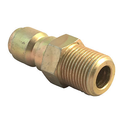 """1/4"""" Male Plug Coupling for Pressure Washers to Quick Connector 1/4"""" Male"""