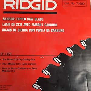 RIDGID - carbide-tipped saw blade Morningside Brisbane South East Preview