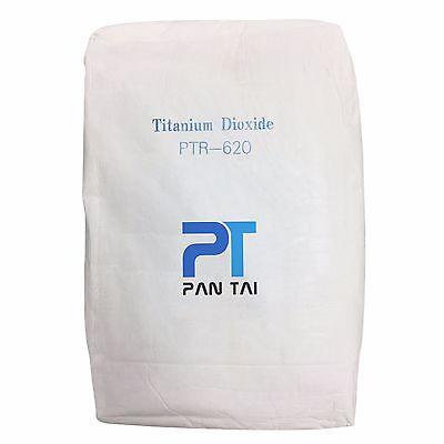 Titanium Dioxide Lab Pure White Pigment Colorant Tio2 Ptr-620 20lb.