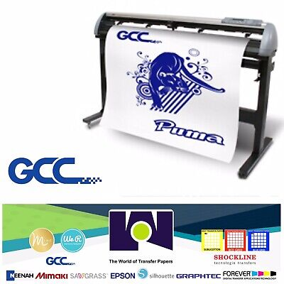 Gcc Puma Iv Lx P4-132lx Vinyl Cutter For Sign And Htv 52 132 Cm Free Shipping