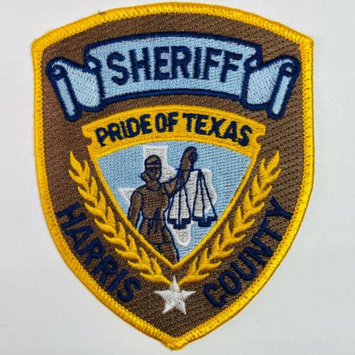 Harris County Sheriff Texas TX Patch A8B